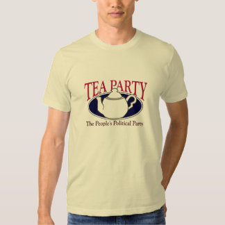 Tea Party Tax Day T-Shirt