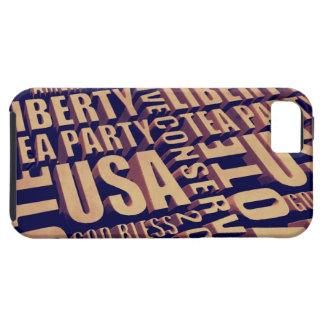 Tea Party Text iPhone 5 Covers