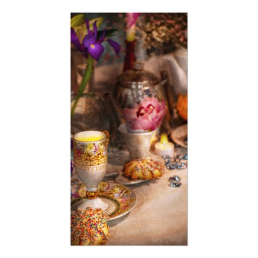 Tea Party - The magic of a tea party Photo Greeting Card