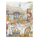 Tea Party Time Postcard