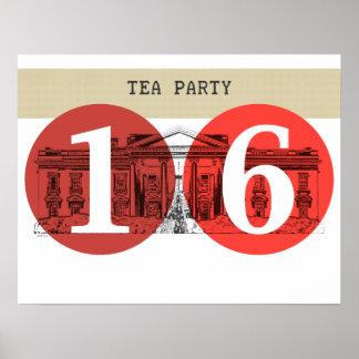 Tea Party White House 2016 Poster