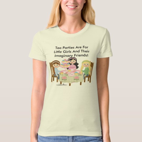 Tea Party Women's Organic T-Shirt (Fitted)