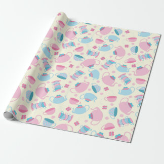 Tea Party Wrapping Paper
