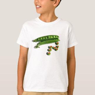 Tea Peas - Peas in a Pod with Tea Pea Cups T-Shirt