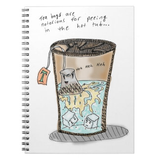 Tea Pee Notebook