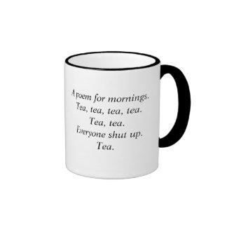 Tea poem mug
