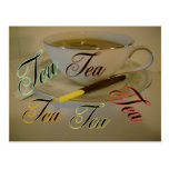 Tea postcard