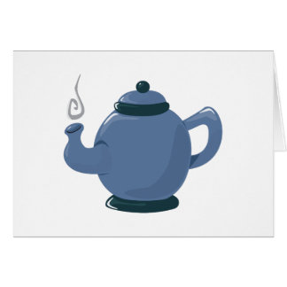 Tea Pot Greeting Card