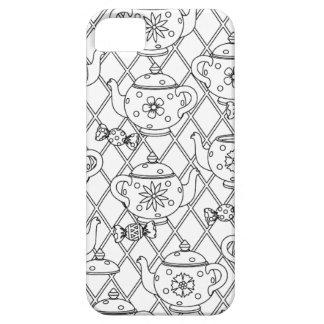 Tea Pot Doodle iPhone 5 Cover