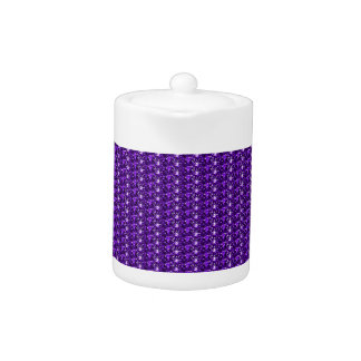Tea Pot Purple Glitter