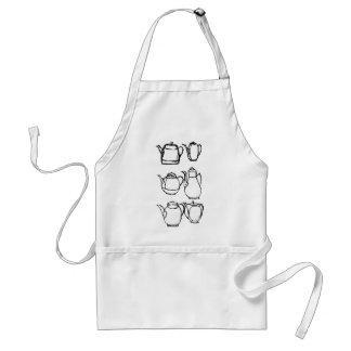 tea pots standard apron