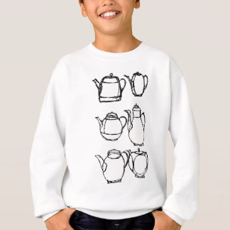tea pots sweatshirt