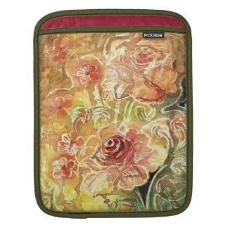 Tea Rose Melody iPad Sleeves