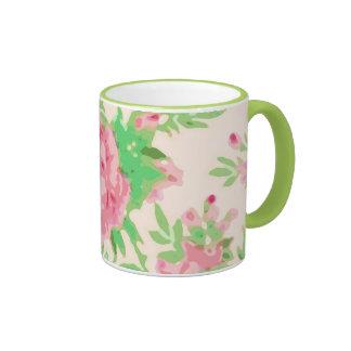 Tea Rose Coffee Mugs