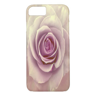Tea Rose Painterly Abstract iPhone 7 Cases