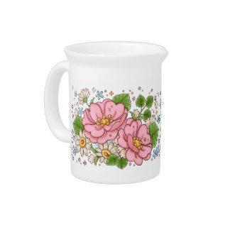 Tea Rose pitcher