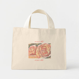 Tea Roses from the Garden Tote Bags