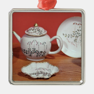 Tea service presented to Carl Linnaeus Christmas Ornament