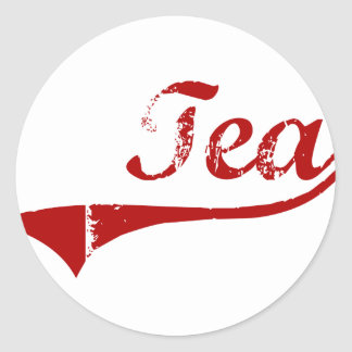 Tea South Dakota Classic Design Stickers