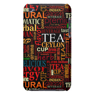 Tea tags iPod touch case