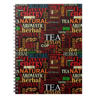 Tea tags notebooks