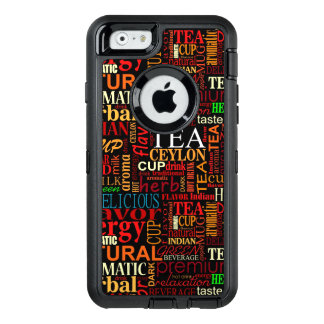 Tea tags OtterBox iPhone 6/6s case
