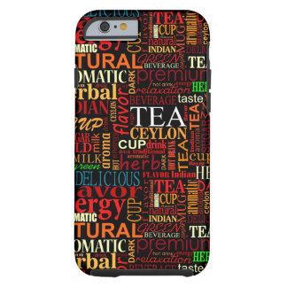 Tea tags tough iPhone 6 case