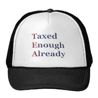 TEA - Taxed Enough Already Cap