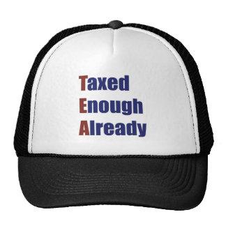 TEA - Taxed Enough Already Trucker Hat