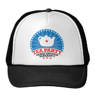 TEA, Taxed Enough Already Party Cap