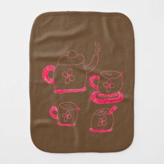Tea Time Babies Burb Bib