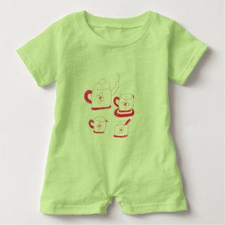 Tea Time Babies Rompa Suit Baby Bodysuit