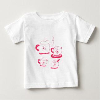Tea Time Baby Fine Jersey T-Shirt