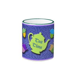 Tea Time Blue mug