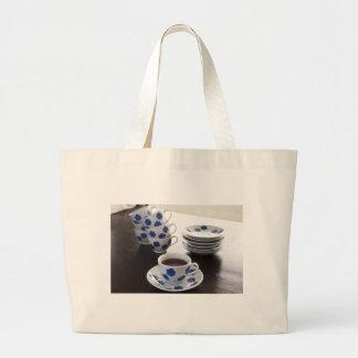Tea Time Cloth Shopping Bag
