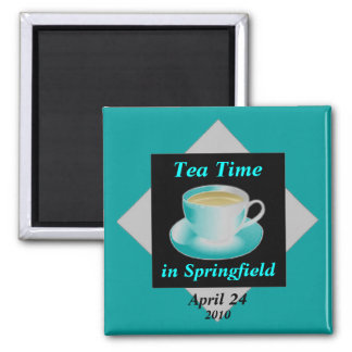 Tea Time Customizable Magnet