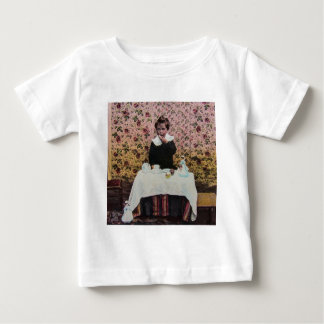 Tea Time for One Vintage Victorian Little Boy T-shirts