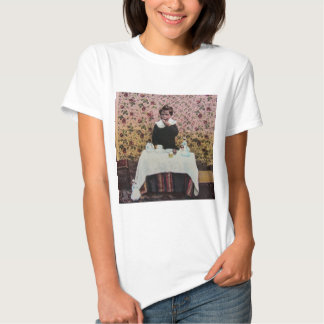 Tea Time for One Vintage Victorian Little Boy Tee Shirts