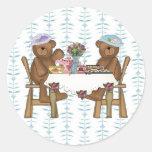 Tea Time for Teddies Sticker