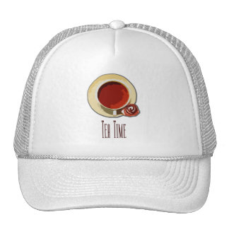 Tea Time Mesh Hat