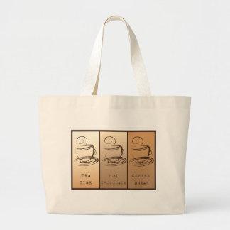 Tea time, Hot Chocolate, Coffee BREAK Bags