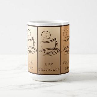 Tea time, Hot Chocolate, Coffee BREAK Coffee Mug