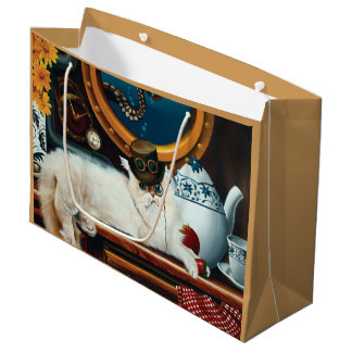 Tea Time Large Gift Bag