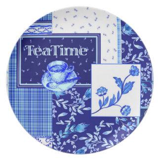 Tea Time - Melamine Plate