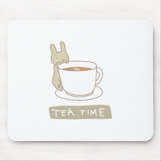 Tea time mouse mat
