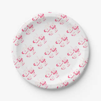 Tea Time Paper Plate 7 Inch Paper Plate