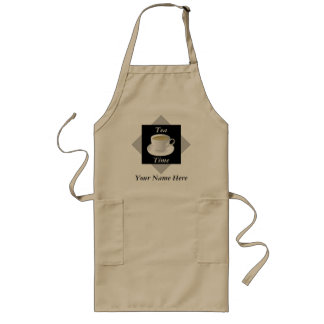 Tea Time Personalized Apron