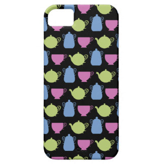 tea time tea pots and cups iPhone 5 cases