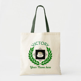 Tea Time Victory Personalized Bag