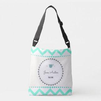 Tea Time with Jane Austen Crossbody Bag